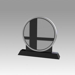 coin smash trophy model