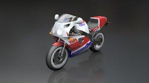 yamaha fzr 750 r 3D model