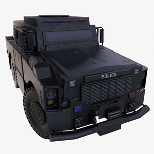 oshkosh alpha swat 3D model