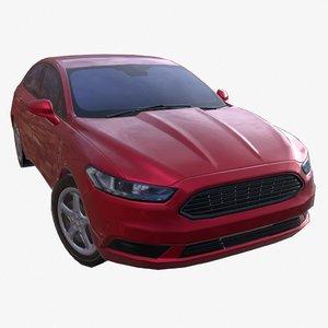 car 01 civilian 3D model