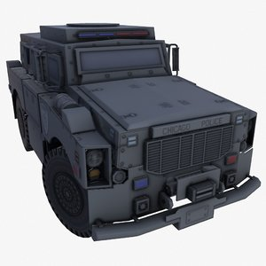3D oshkosh alpha chicago police