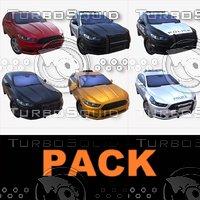 3D car 01 pack model