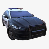 3D model car 01 police ver