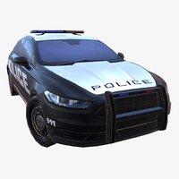 3D car 01 police ver