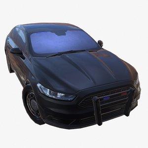 car 01 police stealth model