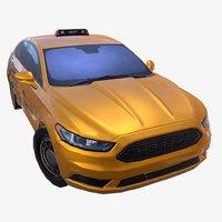 car 01 taxi 3D model