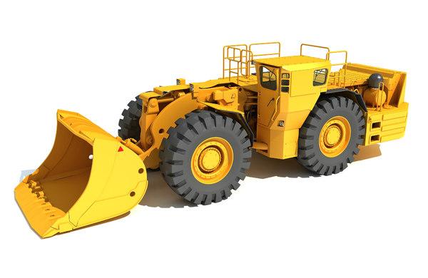3D underground mining hard rock