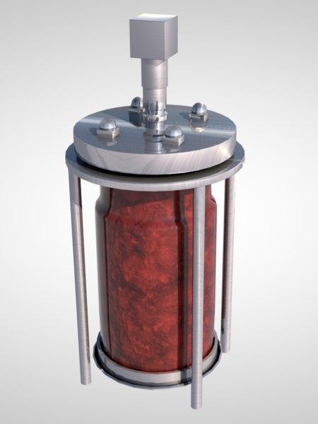 3D sci-fi reactor model