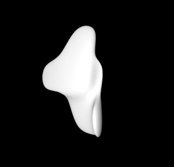 skin flake 3D