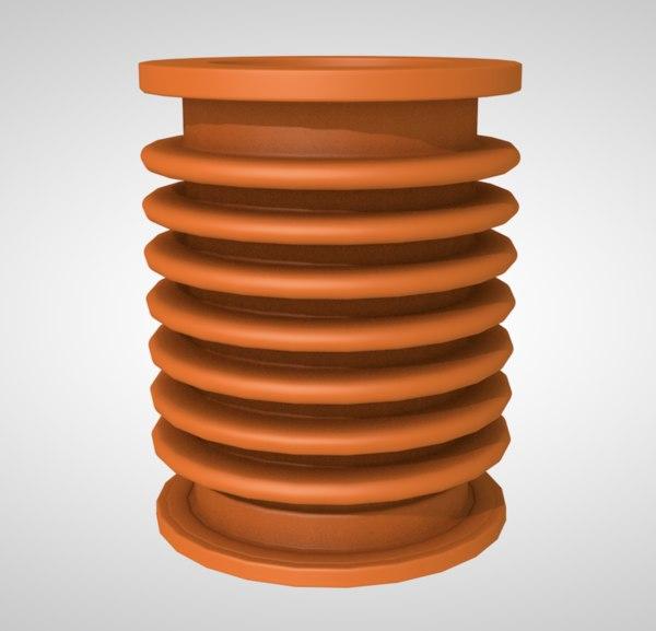 bent tube 3D model