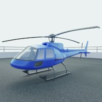Simple Helicopter Model