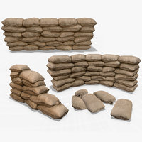 Sandbags Barrier Collection