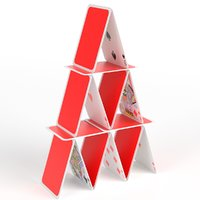 house cards 3D