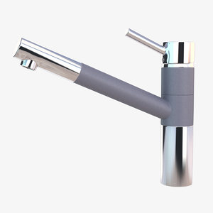 kitchen sink faucet 3D model