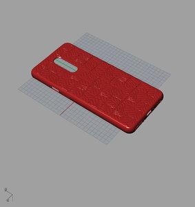 3D model original oneplus7 pro red