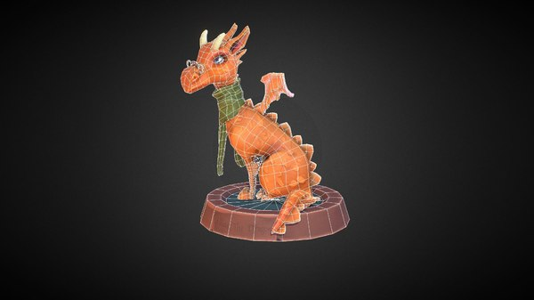 3D dragon teacher