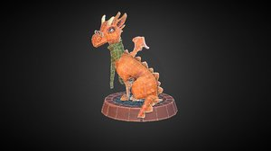 3D dragon teacher