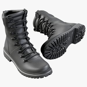 3D realistic boots swat