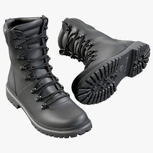 3D realistic boots swat