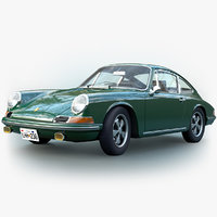 3D porsche 912 1968 911
