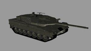 3D leopard 2a6