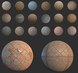 3D model africa ground flooring pack