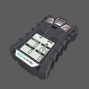 3D model msa detector