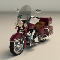 3D motorcycle moto model