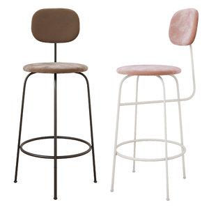 3D afteroom bar chair