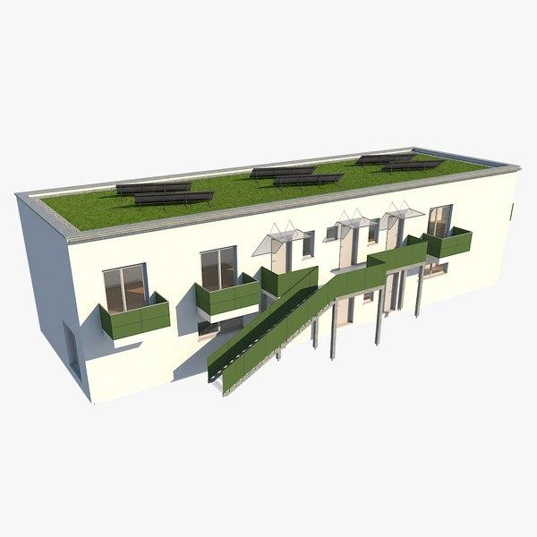 apartment building 3D