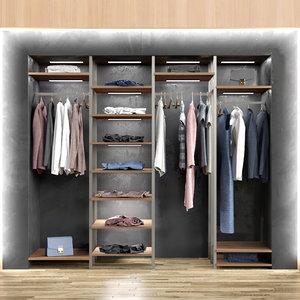3D shops wardrobe