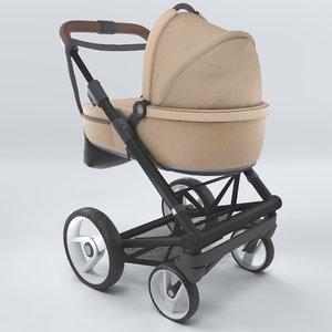 stroller mutsy igo 3D model