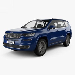 3D jeep commander limited