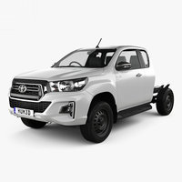 3D toyota hilux extra