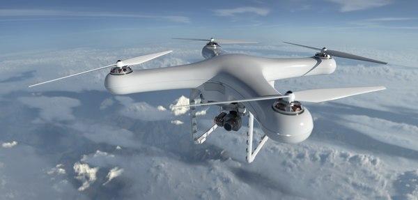 3D drone camera