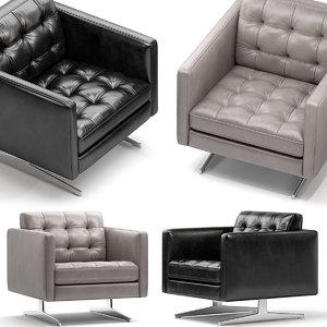 chair seat furniture 3D