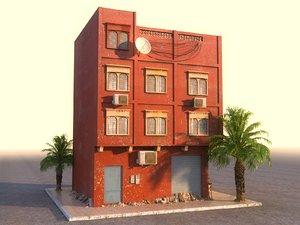 arab house hd 3D model