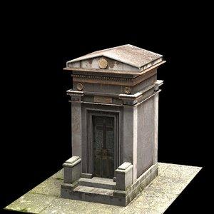 3D model mausoleum