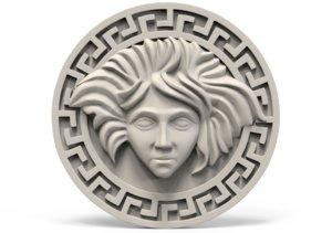 3D medallion model