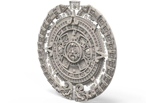 medallion 3D model