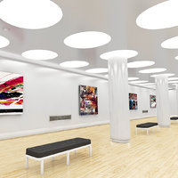 white museum 3D