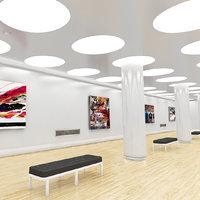 white museum 3D