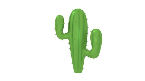 3D model cactus