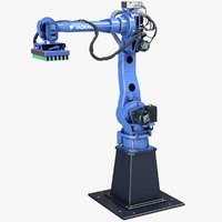 3D pick robot boston dynamics model