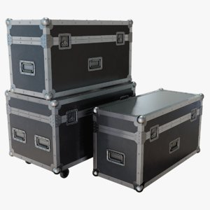 lighting cases 3D model