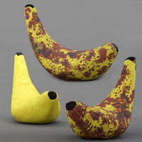 Banana bean bag