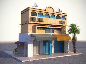 3D model arab house hd