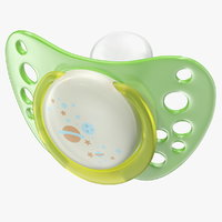 3D model newborn pacifier