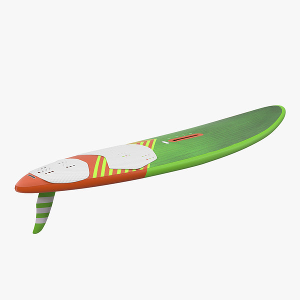 sport windsurf board surfing 3D model