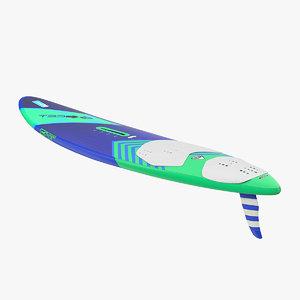 windsurf board surfing 3D